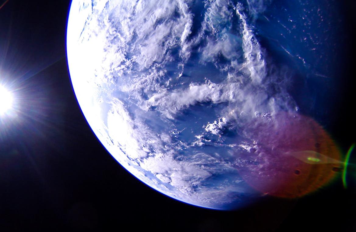 LightSail 2 - earth-caribbean-sea