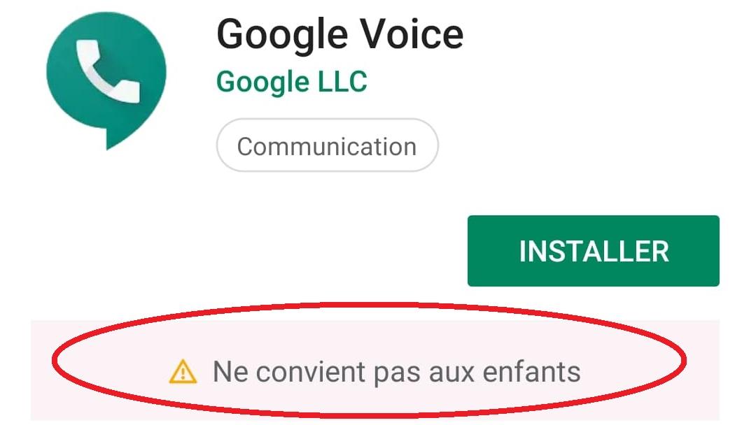 Google ne convient pas aux enfants.jpg