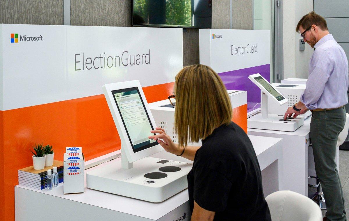 Machine vote Microsoft