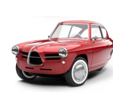 Une voiture rétro à 3 roues, électrique et ultralégère : c'est le pari de la Nobe 100