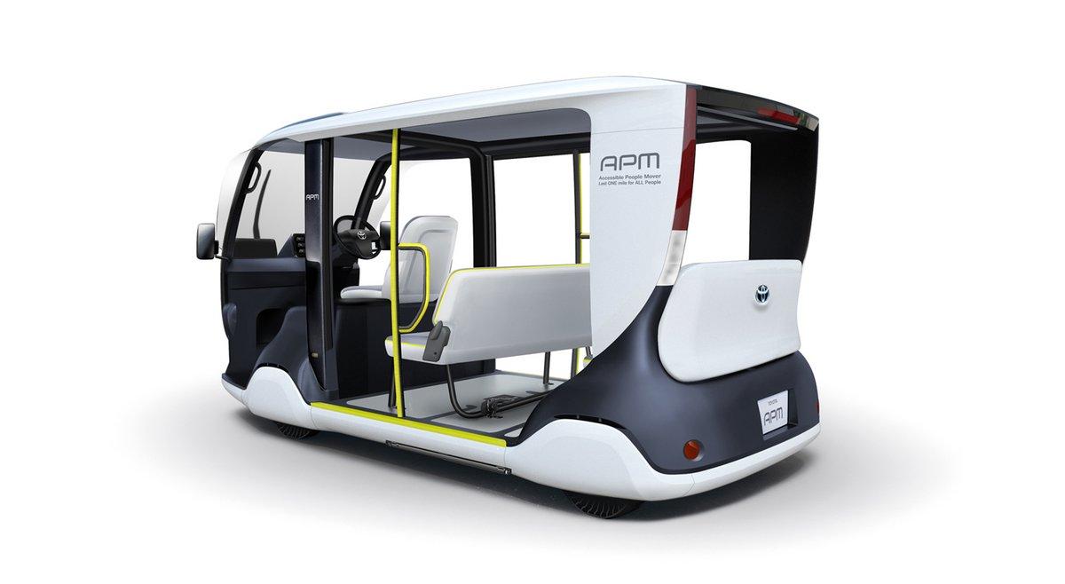 Toyota navette électrique