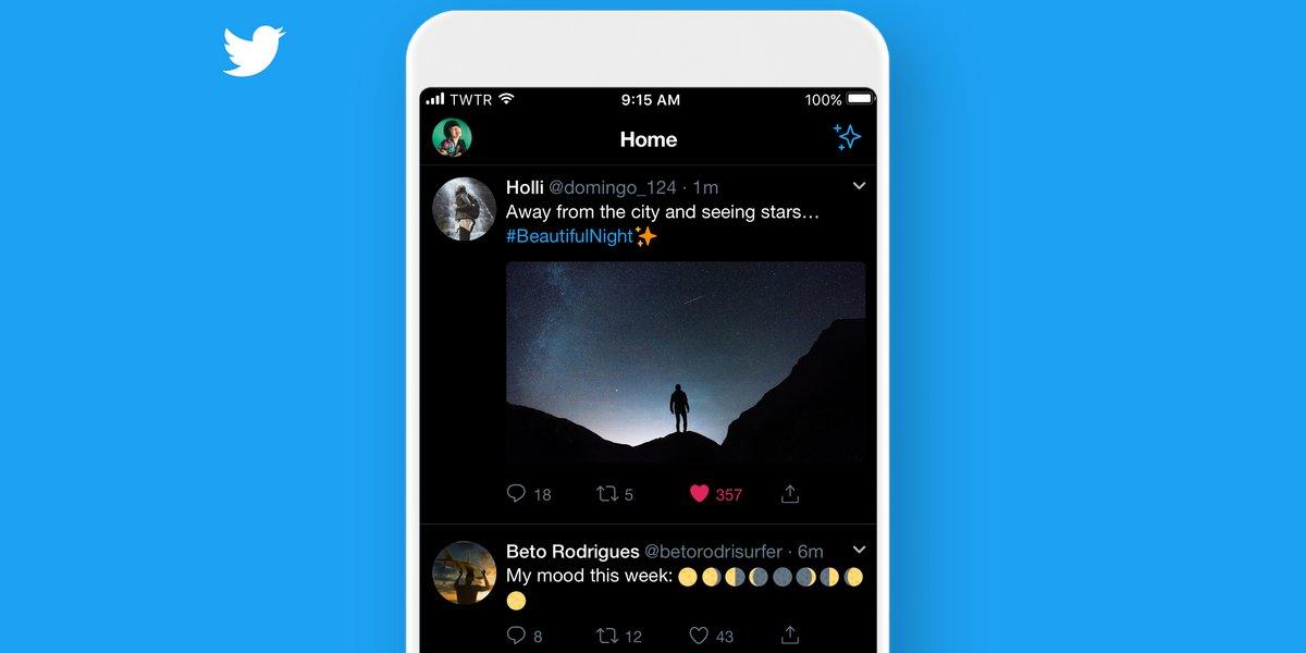 Twitter extinction des feux