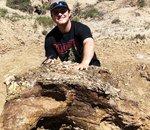 Un étudiant américain découvre un crâne de tricératops en Dakota du Nord