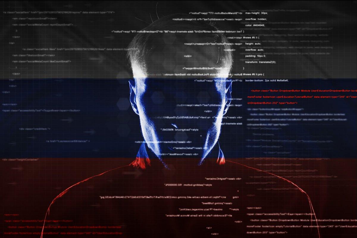 Hacker Russe sans capuche !
