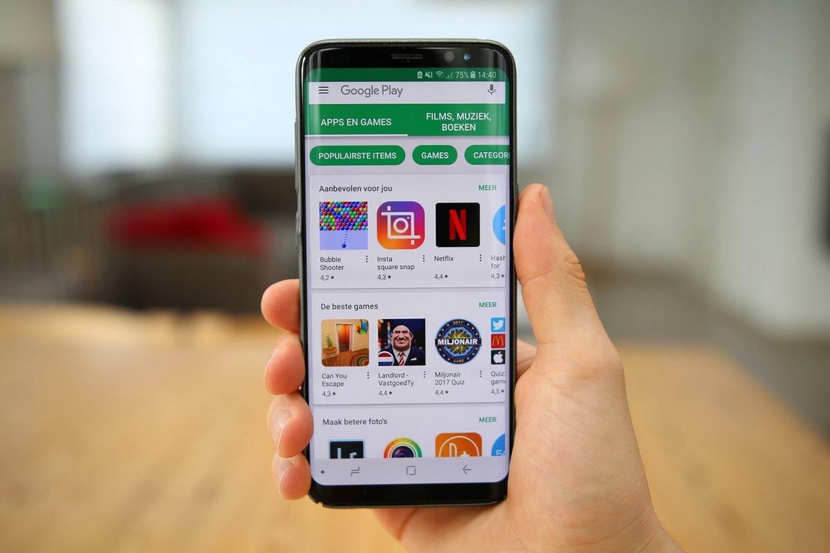 Google Play Store Android © Shutterstock