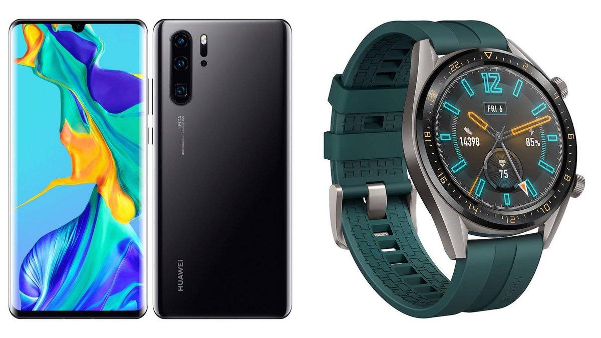 Huawei P30 Pro 128 Go Huawei Smart watch GT.jpg