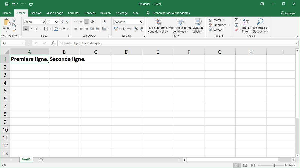 Tuto Excel