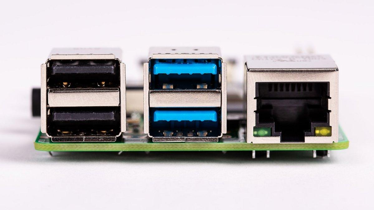 Raspberry Pi 4 B - USB et Ethernet