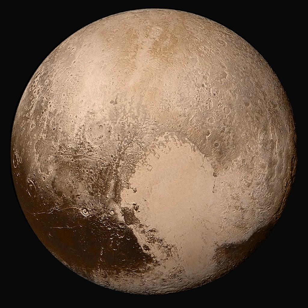 Pluton - New Horizons - 13 juillet 2015