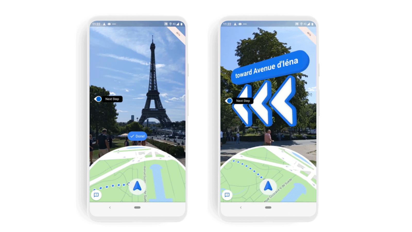 Google Maps' Visual Navigation