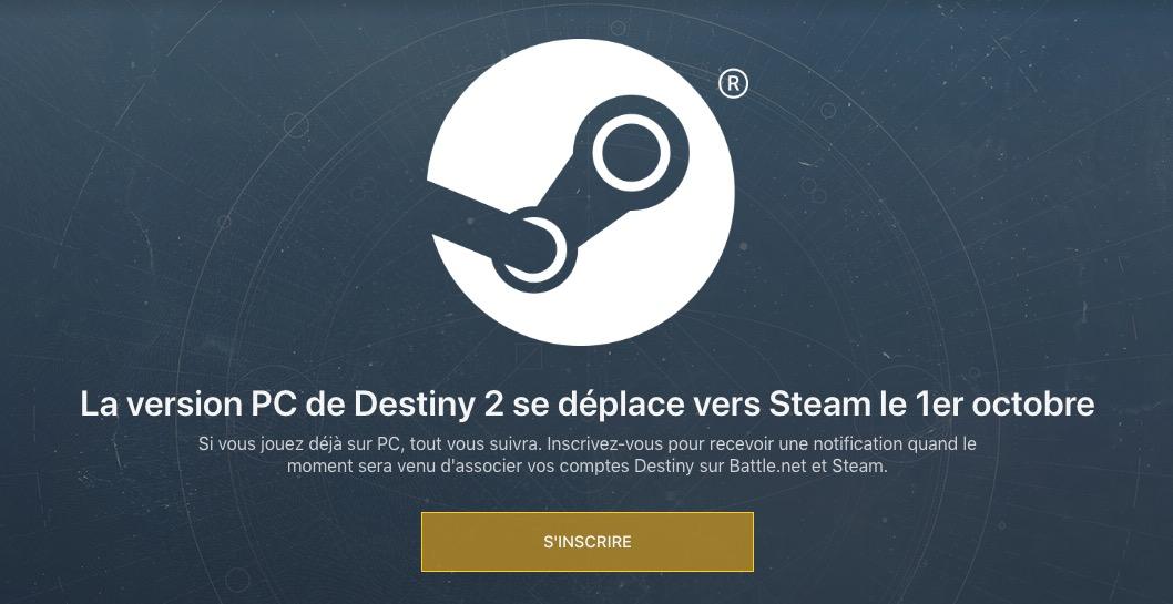 Destiny 2 Steam