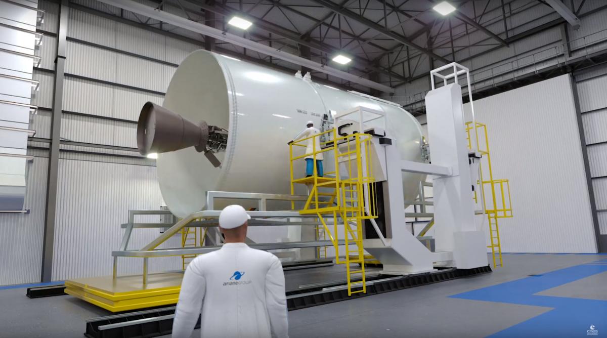 Ariane 6 étape supérieur.png © CNES