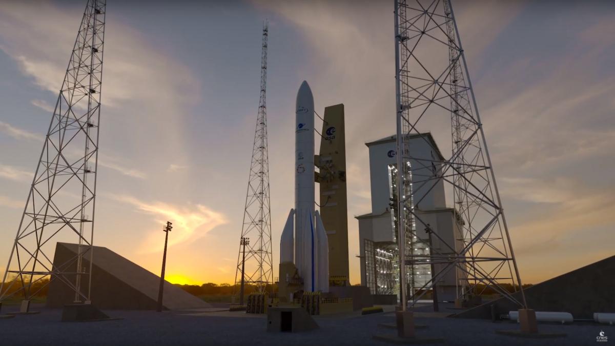 Ariane 6 prête.png © CNES