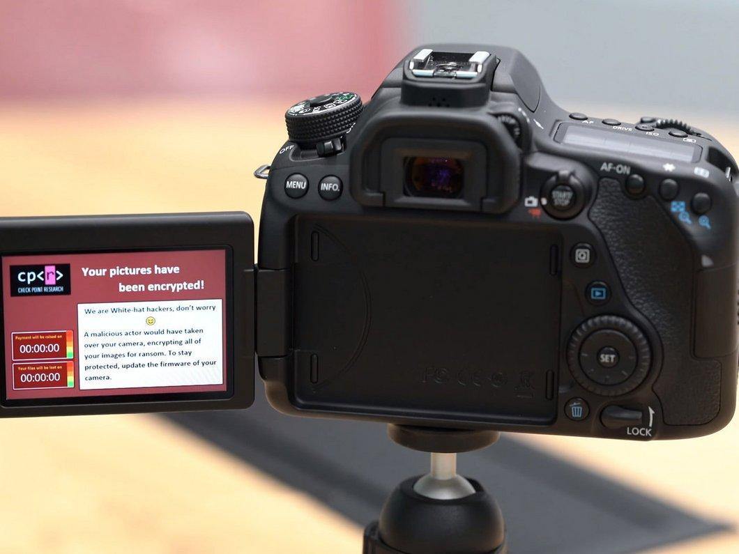 Les appareils photo dotés de Wi-Fi eux aussi vulnérables aux ransomwares