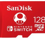 🔥 Bon plan : carte SanDisk microSDXC 128 Go pour Nintendo Switch à 29,80€ au lieu de 43,98€