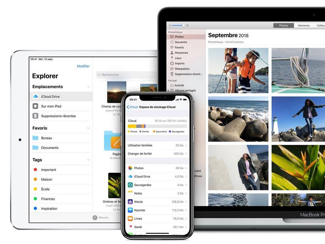 Apple visé par une plainte l'accusant d'héberger certains fichiers iCloud sur des serveurs tiers