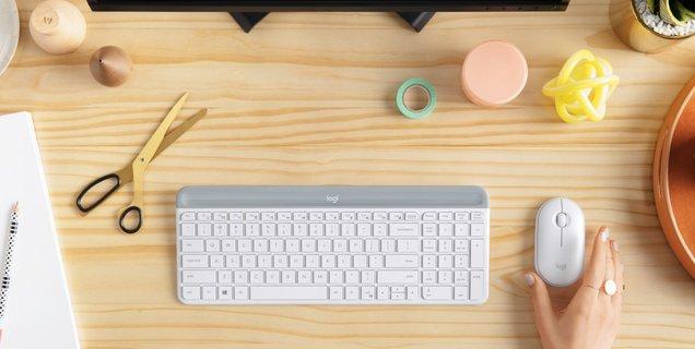 Logitech dévoile le MK470 Slim Combo, un ensemble clavier-souris au design épuré
