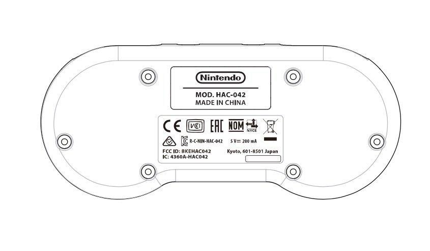Manette Switch Super NES