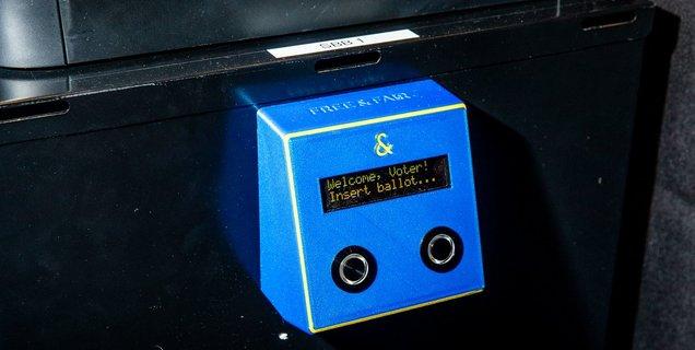 La machine à voter impiratable de la DARPA victime d'un bug à la Defcon