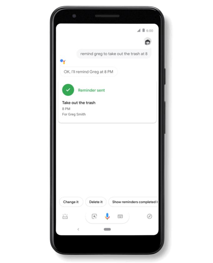 Google Reminders
