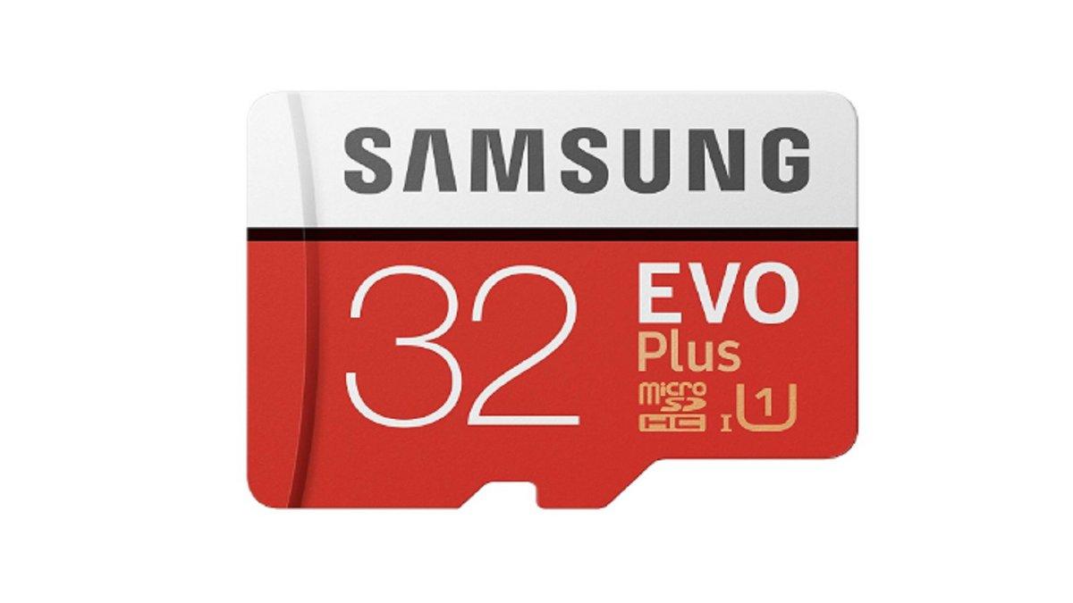 carte micro SD Samsung EVO Plus 32 Go