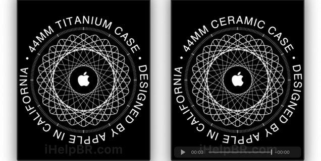 Des Apple Watch en titane et en céramique repérées dans le code de WatchOS 6