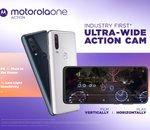 Motorola lance le One Action : le premier smartphone doté d'une action cam ultra large