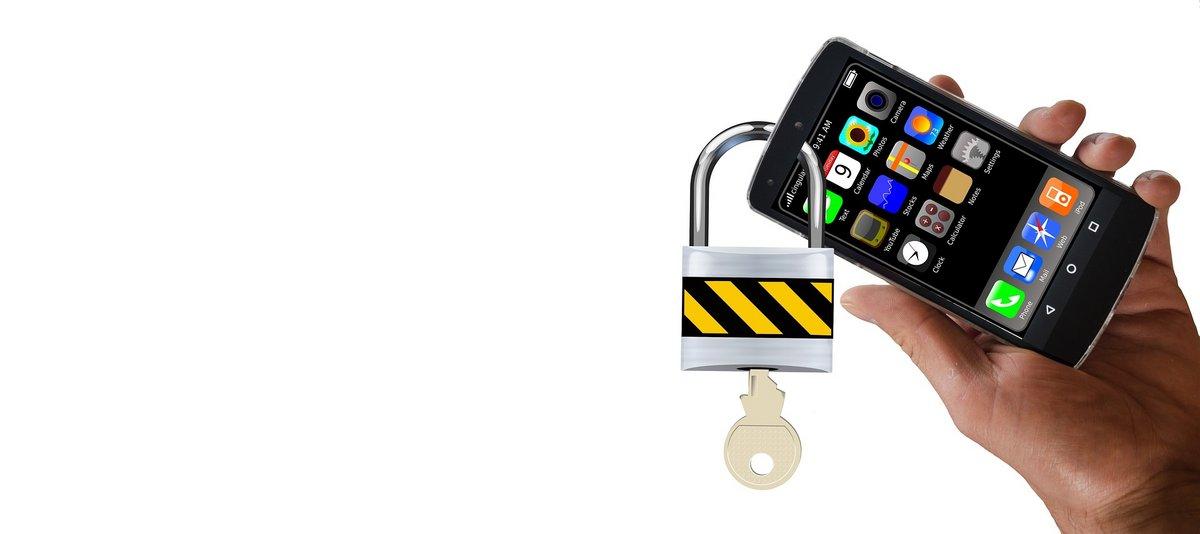 Sécurité téléphone cadenas
