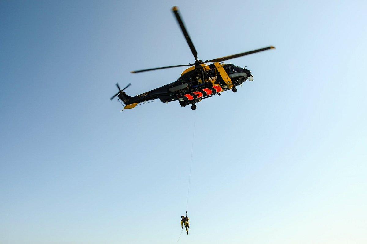 Hélicoptère Secours