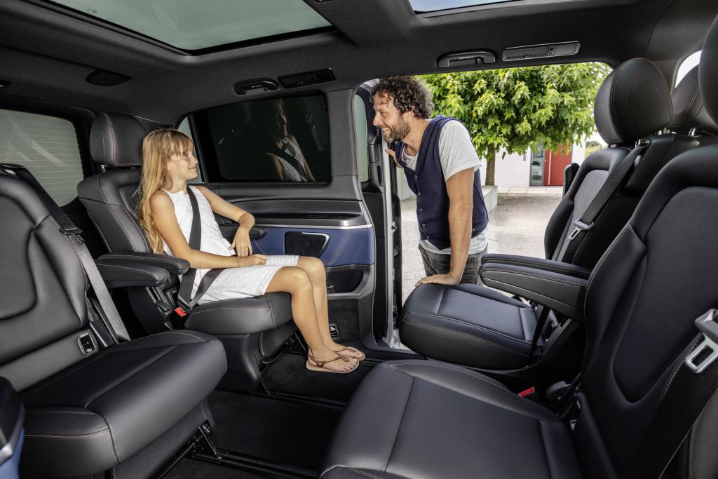 Van Mercedes EQV
