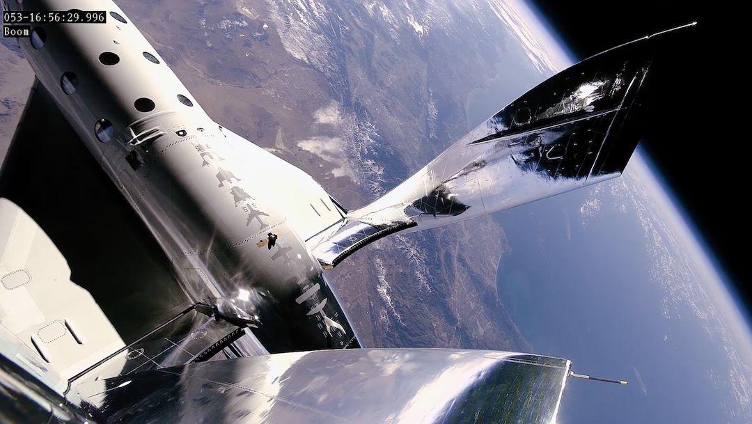 Virgin Galactic espace terre