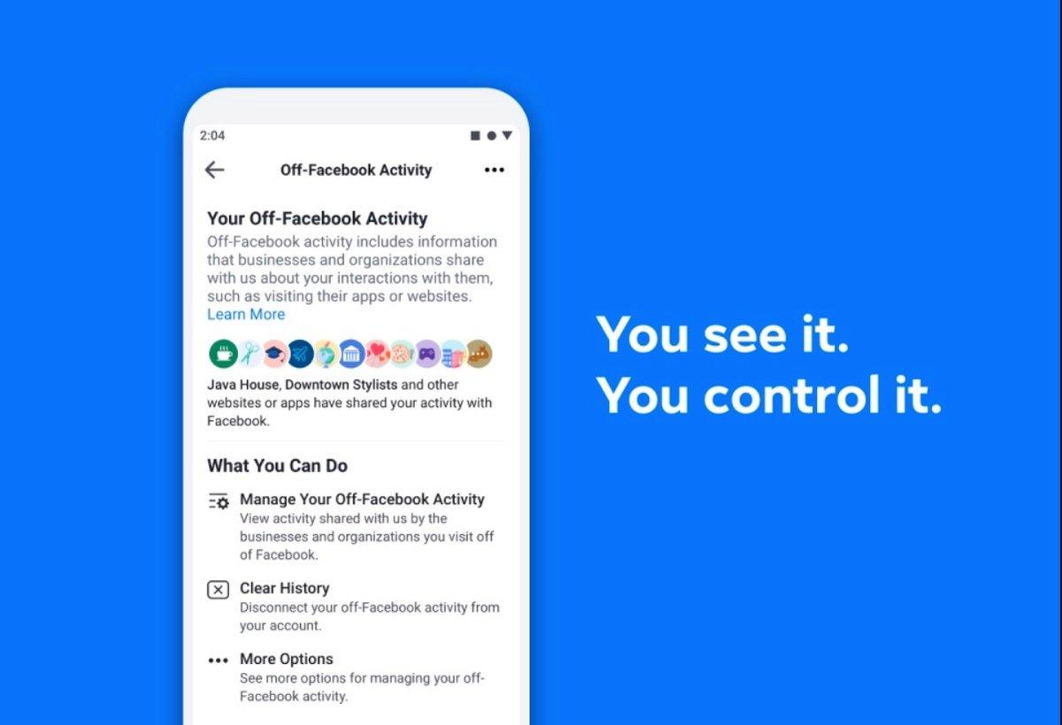Facebook Off-Facebook Activity