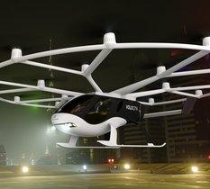 Découvrez VoloCity, le premier taxi volant homologué pour des trajets commerciaux