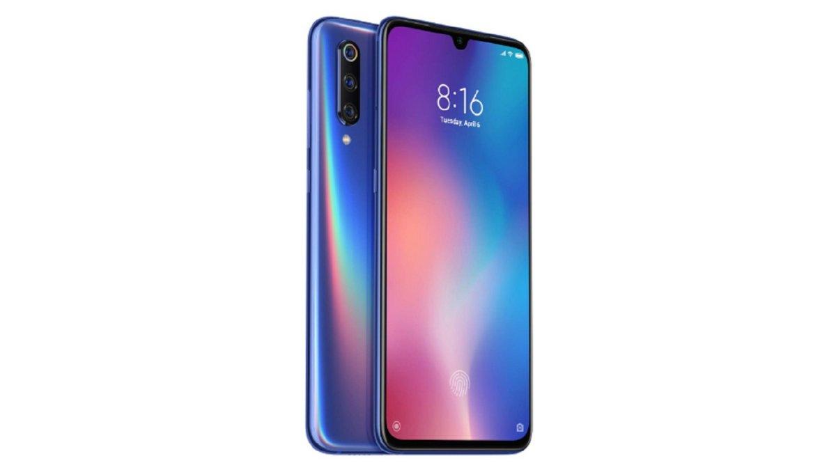 Xiaomi Mi 9 bleu