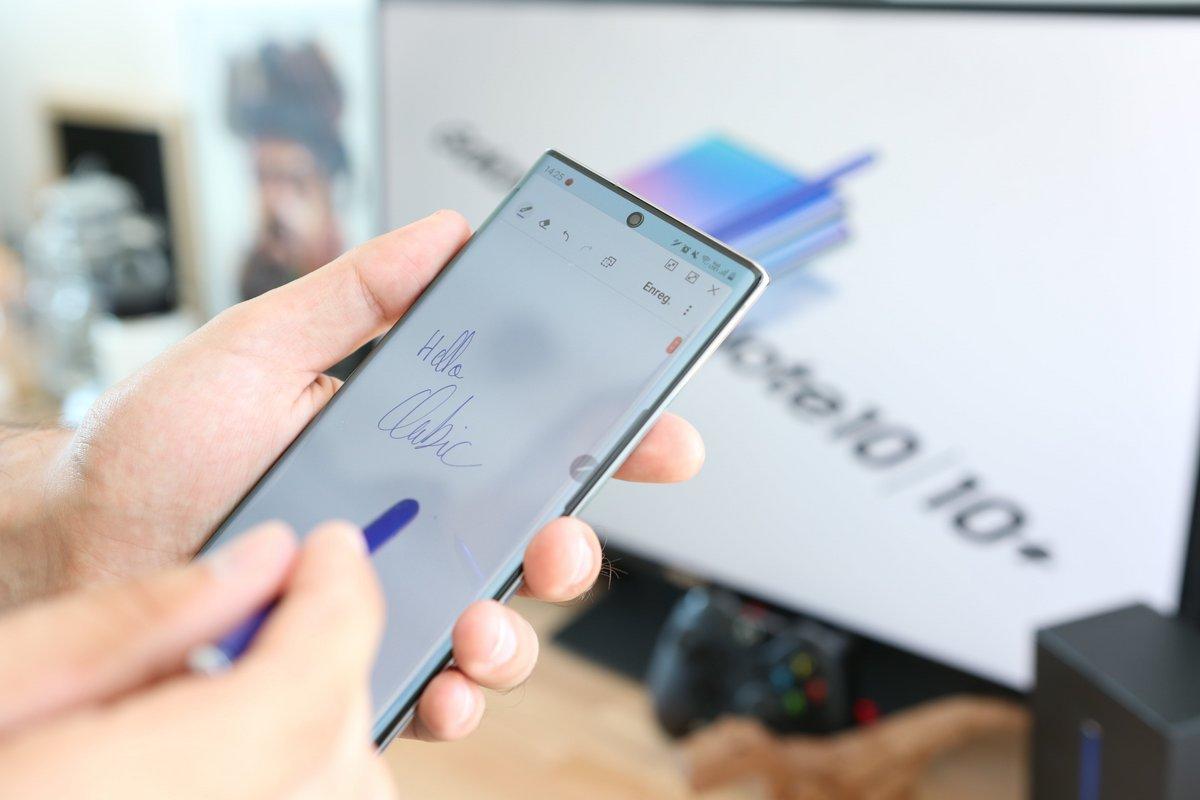 Test Samsung Galaxy Note 10+