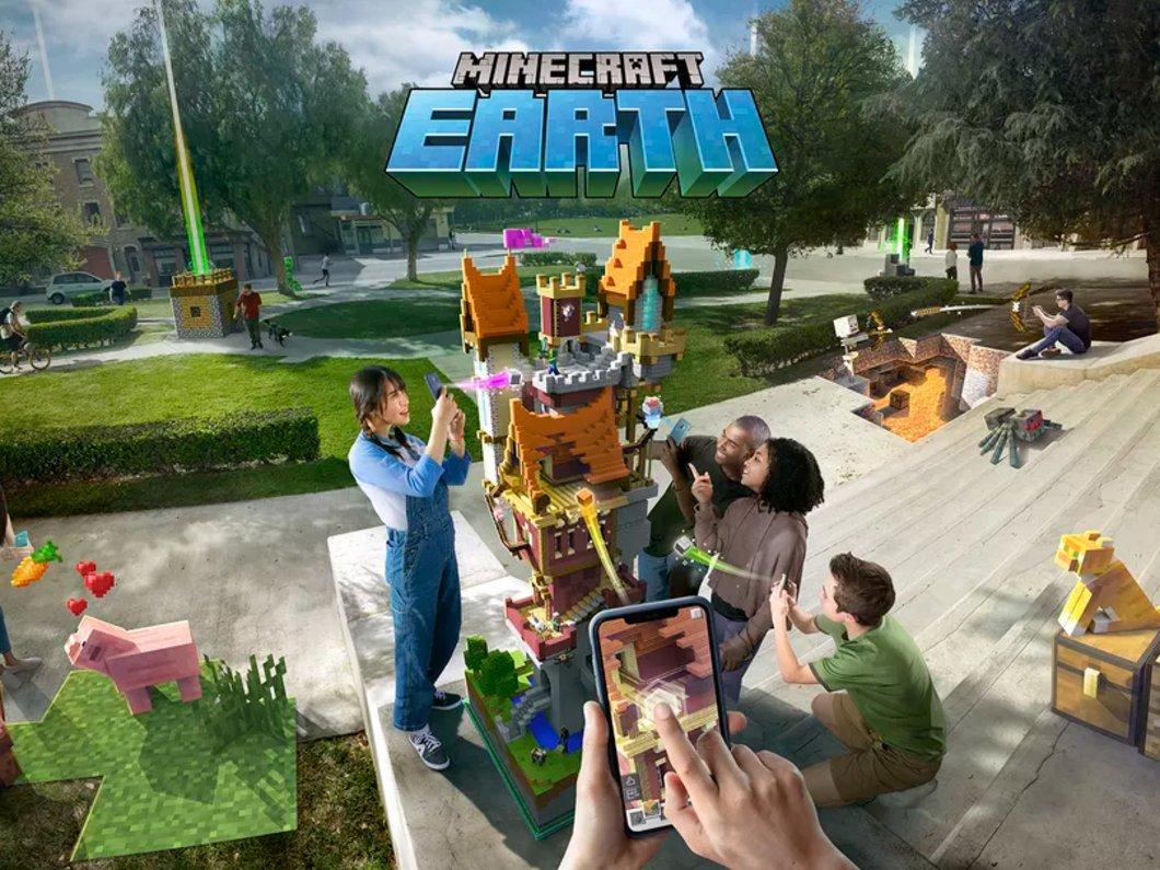 Minecraft Earth, les inscriptions à la bêta sont ouvertes aussi pour Android