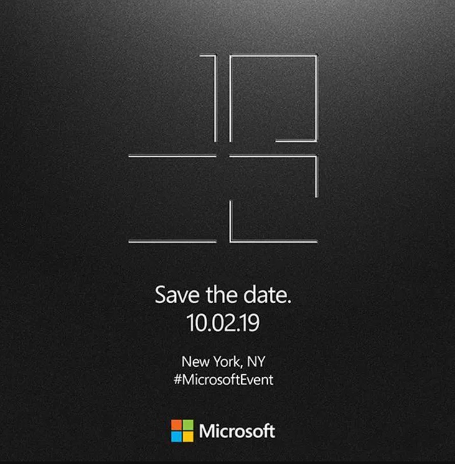 Microsoft Surface octobre 2019