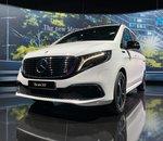 Avant-première mondiale du nouveau van 100 % électrique de Mercedes