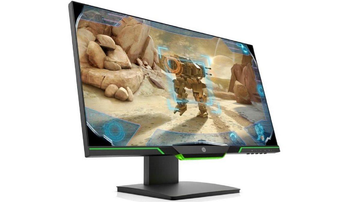 écran PC gamer HP
