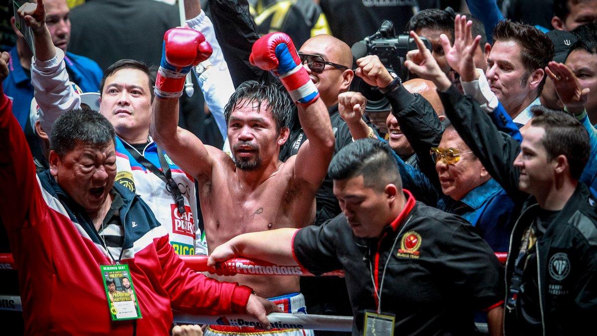 Boxeur philippin cryptomonnaie