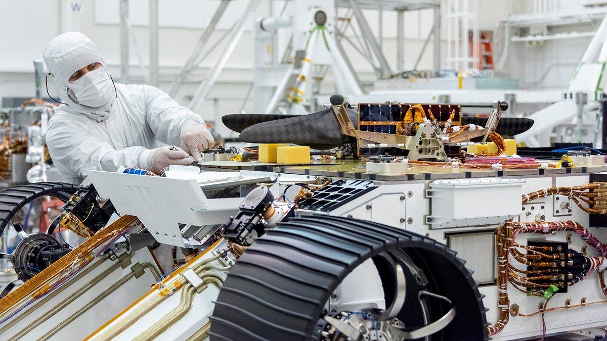 NASA hélicoptère rover