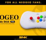 SNK dévoile le Neo-Geo Arcade Stick Pro, une nouvelle manette/console ?