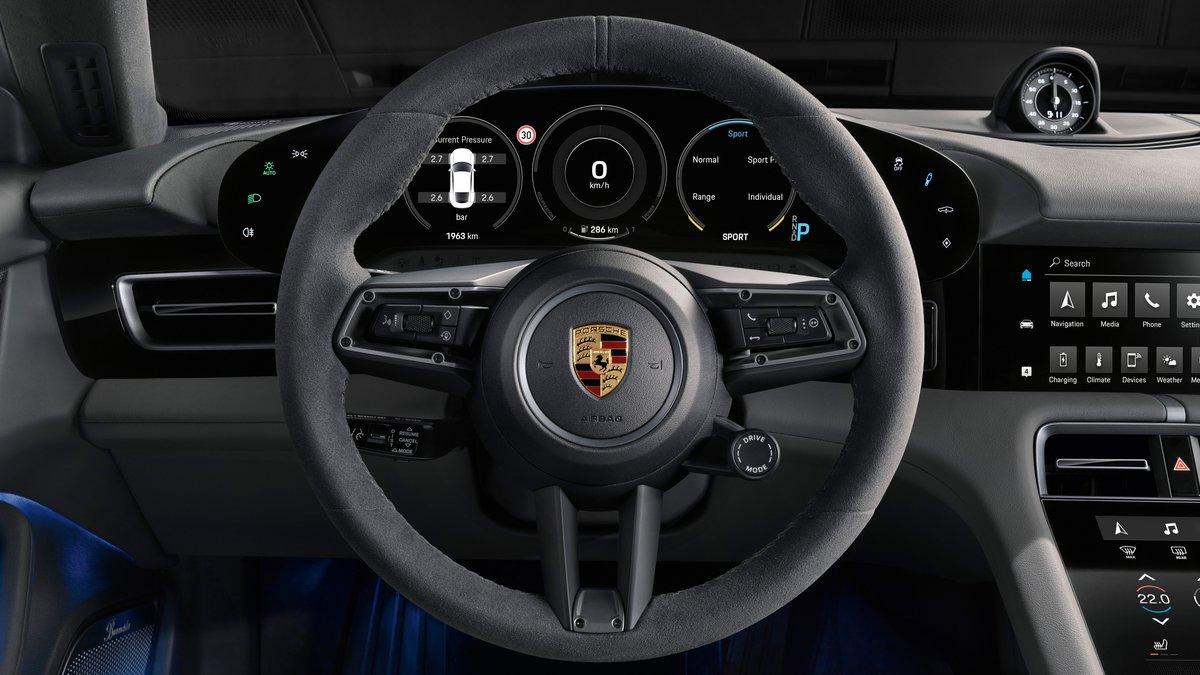 Interieur Porsche Taycan