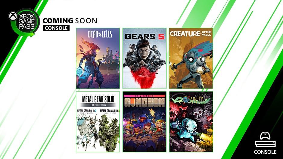 Xbox Game Pass septembre 2019