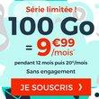 Forfait mobile pas cher : Cdiscount 100Go à 9,99€/mois