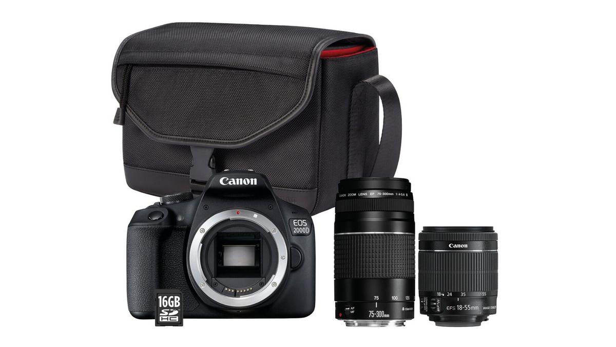 pack reflex canon EOS 2000D