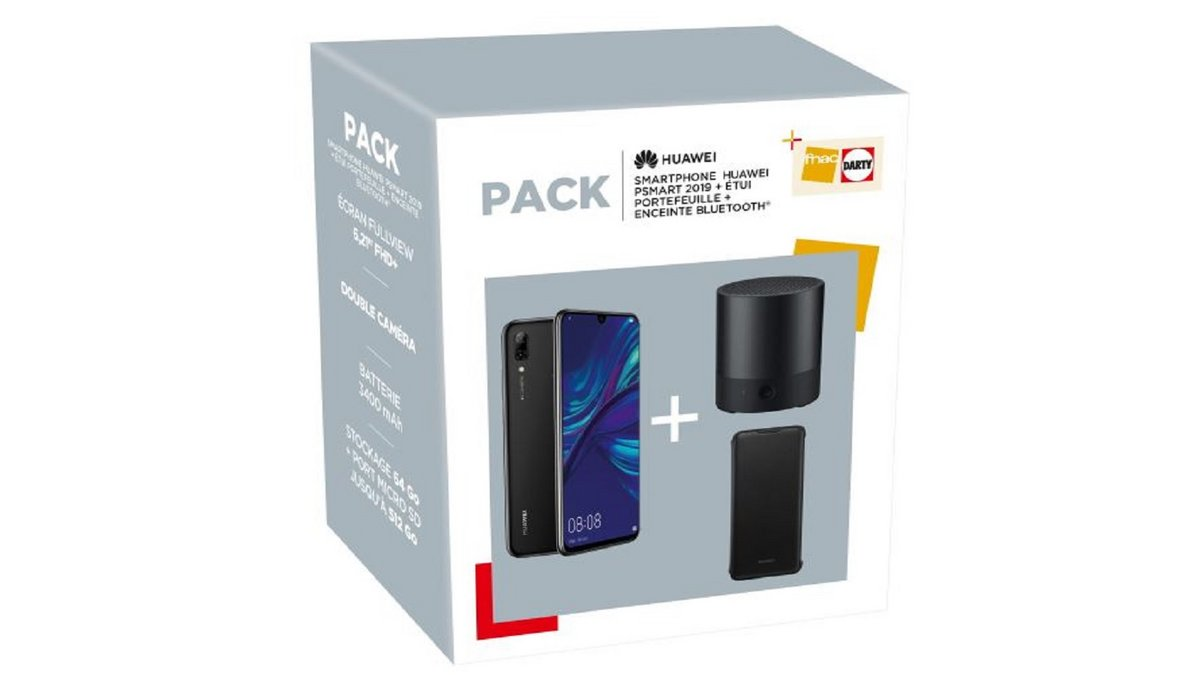 Pack Huawei P Smart 2019 Fnac