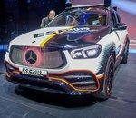 Salon de Francfort  - Mercedes ESF, un impressionnant SUV autonome dédié à la sécurité