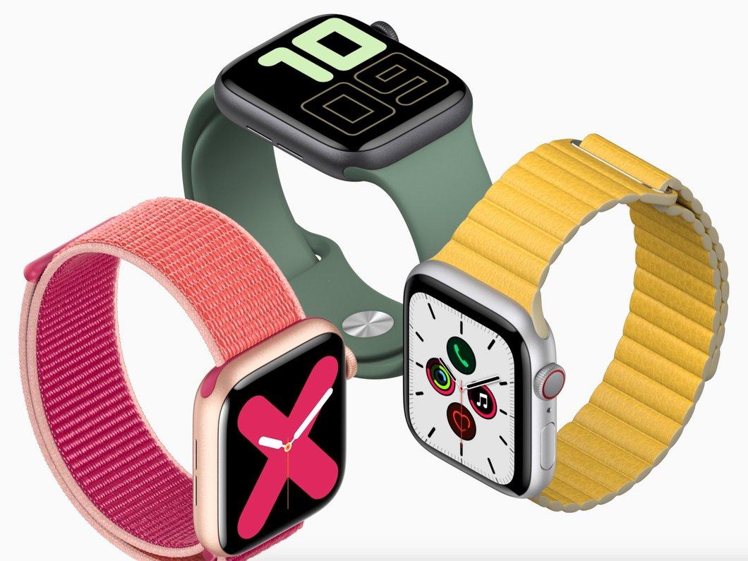 Apple Watch Series 5 : la montre connectée se dote d'un écran always-on