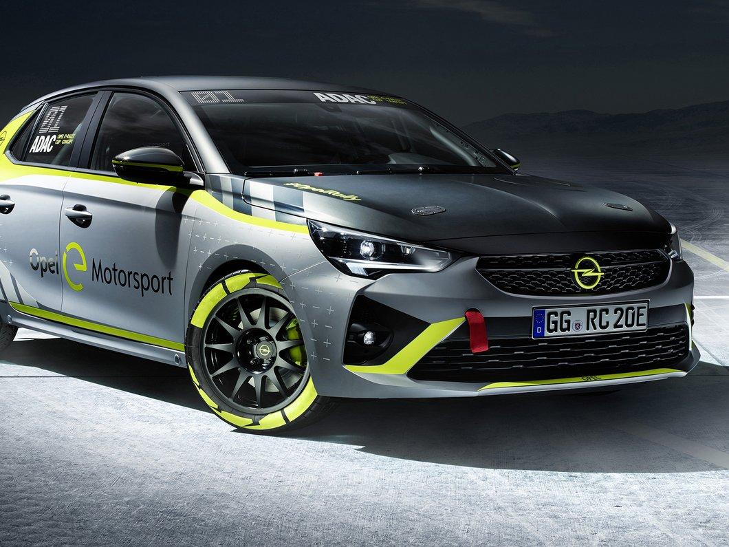Salon de Francfort : Opel Corsa-e Mortorsport, une version parée pour les rallyes électriques